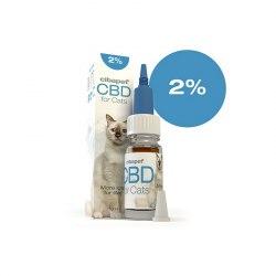 Huile CBD chat 2% - Cibapet