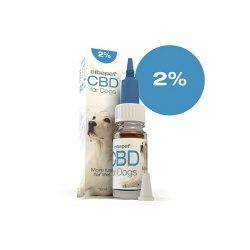 Huile CBD chien 2% - Cibapet