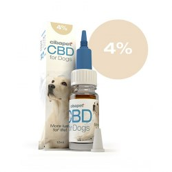 Huile CBD chien 4% - Cibapet