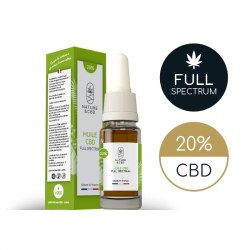 Huile CBD Full Spectrum 20% par Nature & CBD