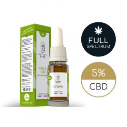 Huile CBD Full Spectrum 5% par Nature & CBD